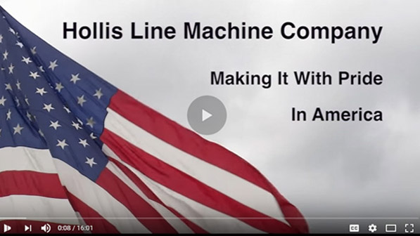hollis line machine